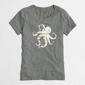J Crew Collector's Octopus Tee